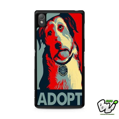 Adopt Dog Sony Experia Z3,Z4,Z5,C3,C4,E4,M4,T3 Case,Sony Z3,Z4,Z5 MINI Compact Case