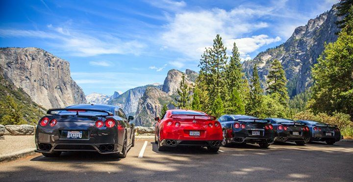 Every now and again you have to rally the troops and hit the road. Thanks to Nissan GT-R owner Mike K. for this amazing and scenic shot at Yosemite National Park!