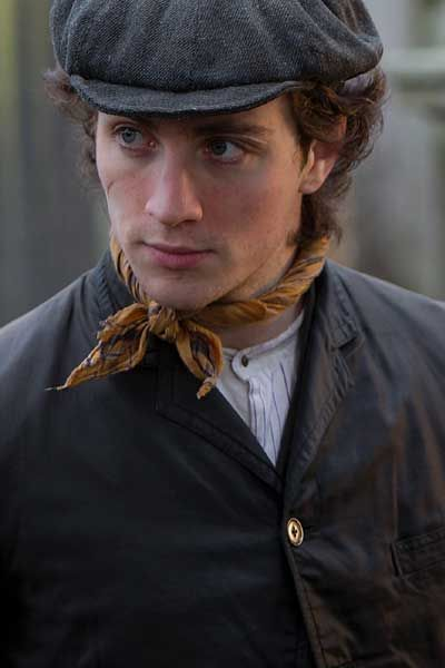 Aaron Taylor-Johnson in Albert Nobbs
