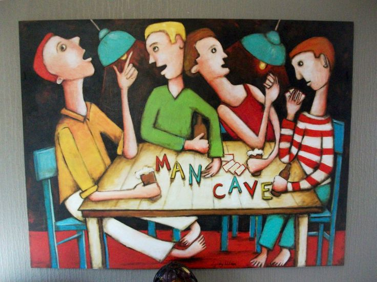 Large contemporary painting by Lyndy Wilson