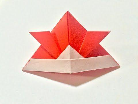 折り紙 子供の日 かぶと Origami helmet - YouTube