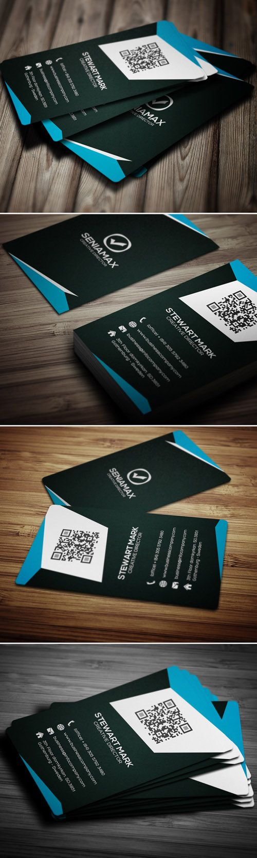 79 best Found Inspiration: Business Cards images on Pinterest ...