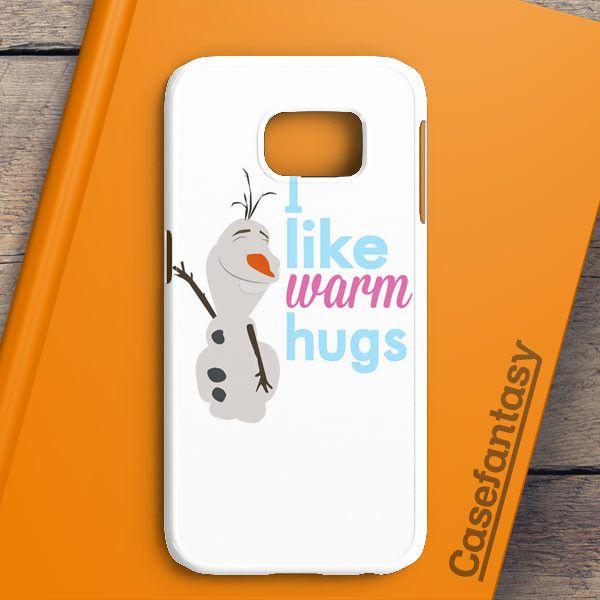 Olaf Warm Hugs Samsung Galaxy S6 Edge Plus Case | casefantasy