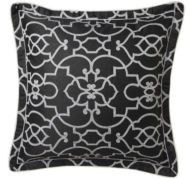Istanbul Quilt Cover Set Range Black   Manchester Warehouse