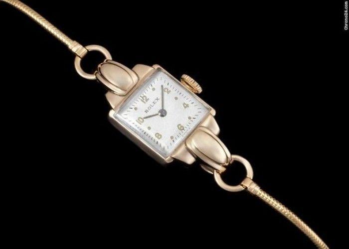 awesome Rolex 1946 ROLEX Vintage LADIES Dress WATCH - 9K GOLD