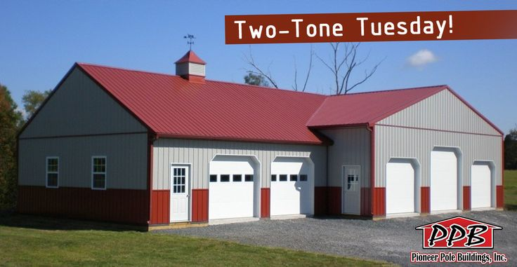 Pin By Pioneer Pole Buildings Inc On Two Tone Tuesdays