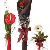 Get well flowers: 'Single Flowers in Vase'