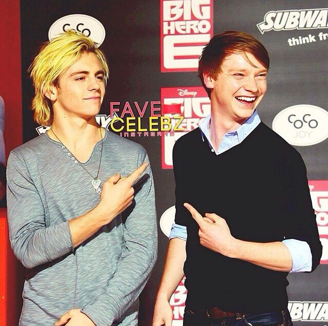 Calum Worthy And Ross Lynch 2014 41 best images about C...