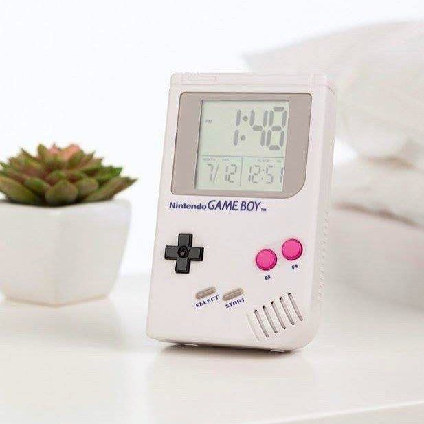 Wake Up Level Up Get Set For A Day Of Retro Gaming With Our Super Cool Game Boy Alarm Clock Back In Stock Soon Add You Gameboy Nintendo Games Nintendo