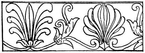 motif ukiran minangkabau, warisan dari yunanikuno