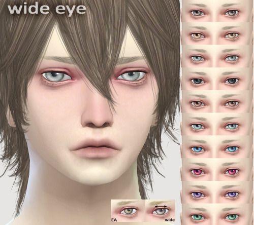 [WIDE EYE] for unisex.黒目部分が横に広いシンプルな目です。 目の色にスォッチ追加するタイプと、メイクのフェイスペイントタイプがあります。add EYE COLOR ver. /DOWNLOAD(MediaFire) FacePaint ver./ DOWNLOAD(MediaFire)You can use it as you want.please enjoy it.色追加したり直したりなんでもお好きなようにお使いください。
