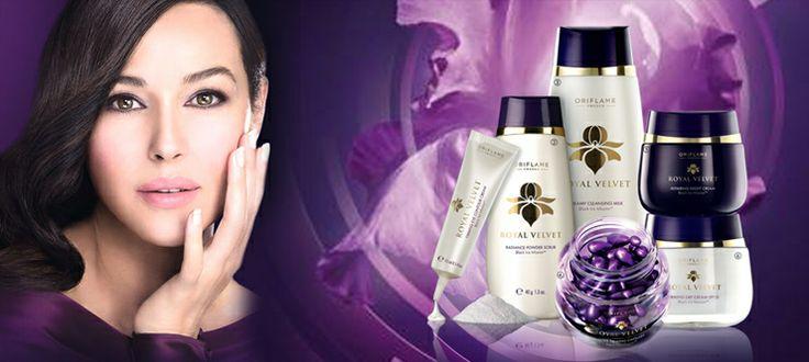 The Royal Velvet Range from Oriflame : A precious secret to firmer skin.