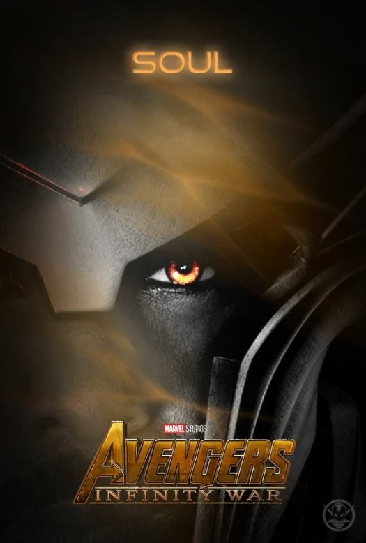 Avengers Infinity War Poster Showing The Soul Stone Possibly in Heimdall - DigitalEntertainmentReview.com