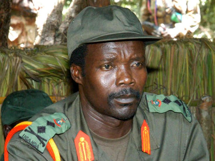 Joseph Kony, head of the Lord's Resistance Army of child soldiers
