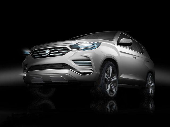 SsangYong previews LIV-2 Concept ahead of Paris debut