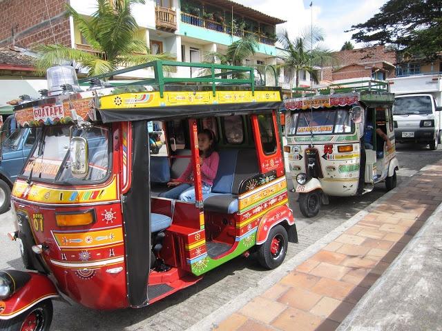 Carros en Colombia.
