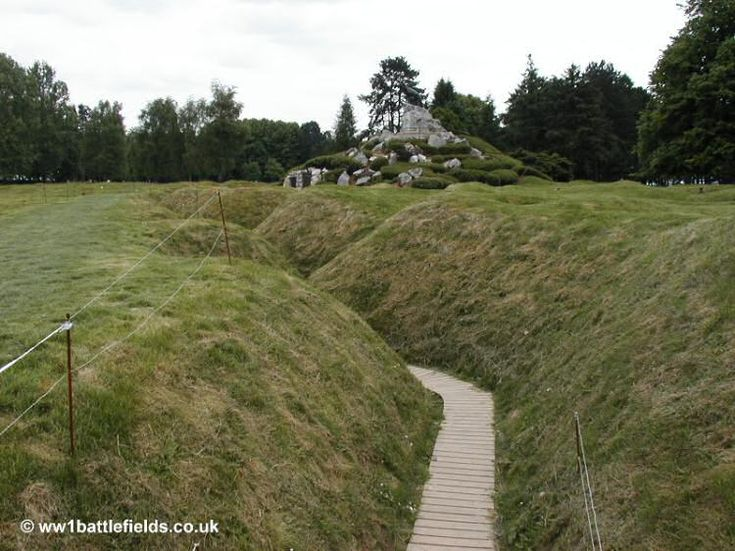 World War I Trenches Today - Bing images