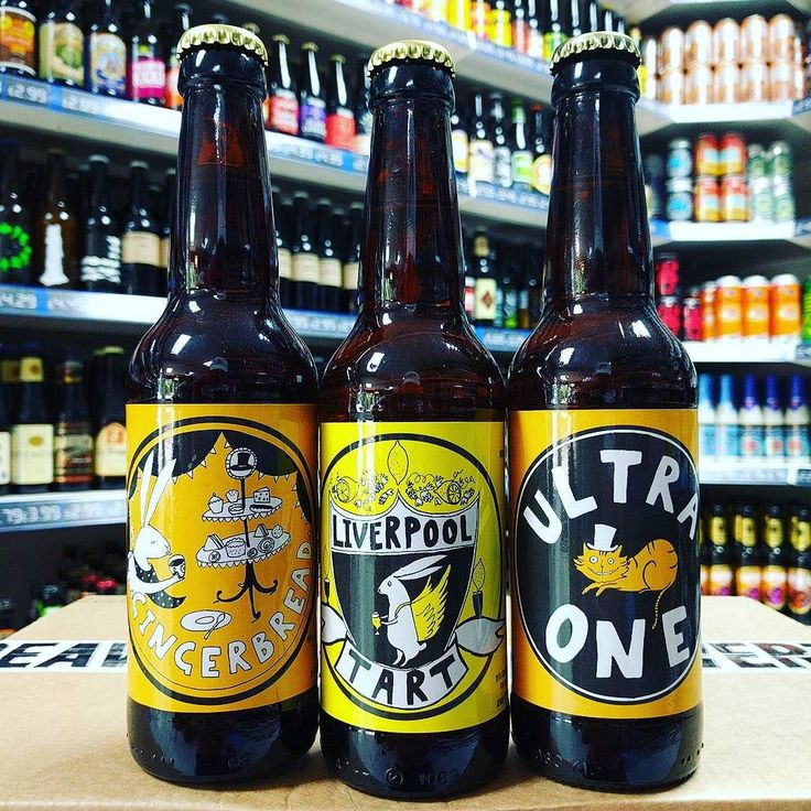 Gingerbread 7.2% Liverpool Tart - 4.2% Gose and Ultra One - 11.9% Barley Wine from @madhatterbrewing available now