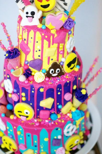Best  Birthday Cake Emoji Ideas On Pinterest Emoji Cake - 11th birthday cake ideas