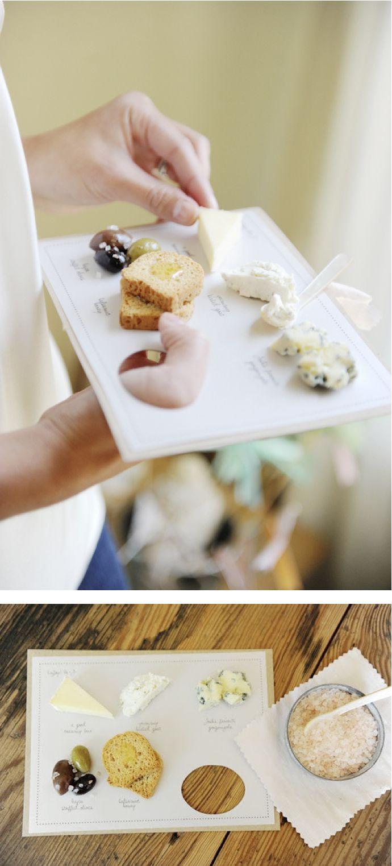 cheese tasting party for @Martha Stewart Weddings Magazine   @Kate Headley photography