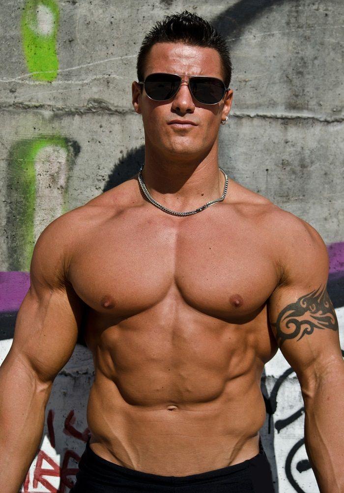 young musclemen
