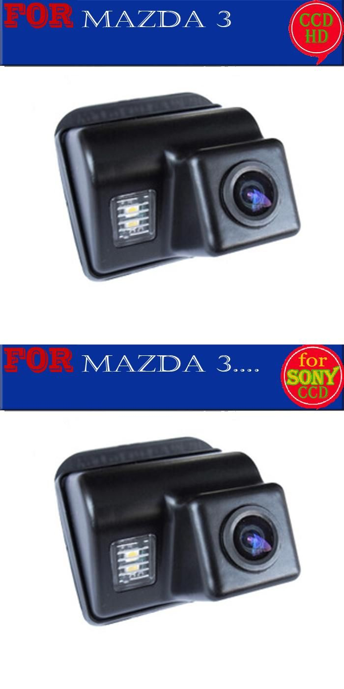 [Visit to Buy] wireless wire parking camera for sony ccd Mazda 3 2004-2009 Mazda3 Car Reverse Rear View Parking Camera night vision #Advertisement