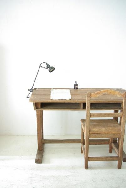vieux bureau en bois decole ~ Vieux Bureau Bois