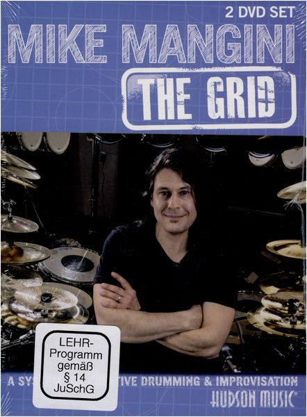 Hudson Music Mike Mangini: The Grid, Mike Mangini: The Grid - A System For Creative Drumming & Improvisation