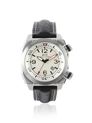 67% OFF AVI-8 Men's 4005-01 Hawker Harrier II Black/White Stainless Steel Watch