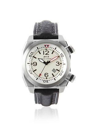 67% OFF AVI-8 Men's 4005-01 Hawker Harrier II Black/White Stainless Steel Watch