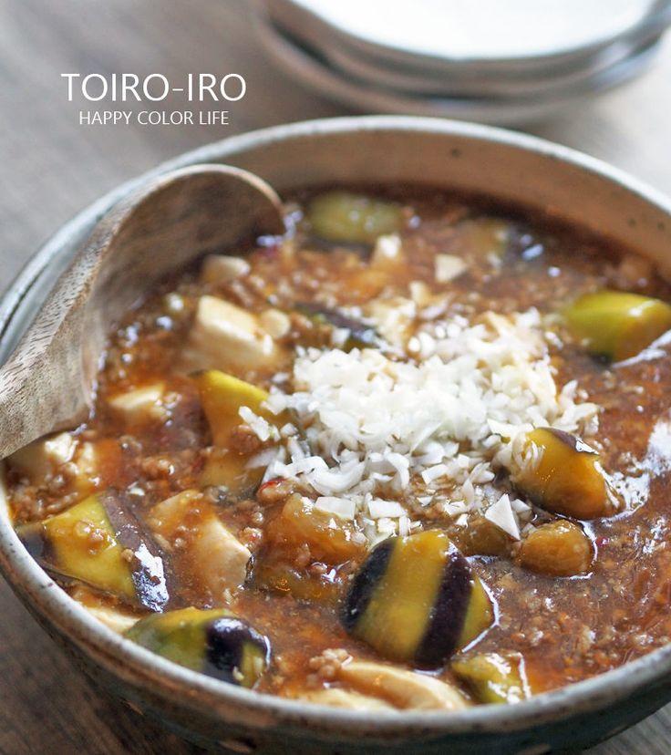 トロトロナス入り麻婆豆腐