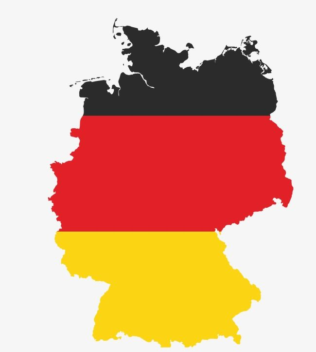 German Flag Map Png And Vector German Flag Germany Flag Germany Map