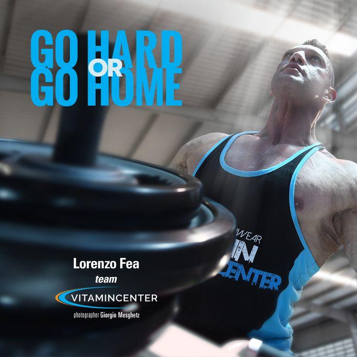 Go HARD or Go HOME! #motivationmonday Buon lunedì di allenamento! => www.vitamicenter.it  #buongiorno   #buon   #lunedì   #allenamento   #palestra   #muscoli   #fitness   #bodybuilding