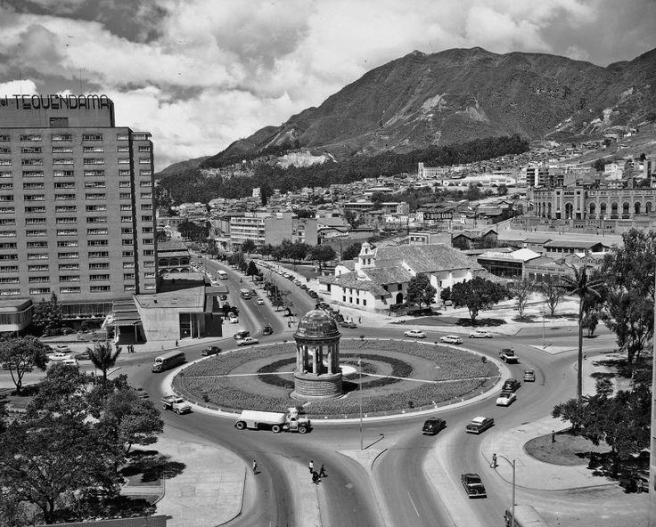 Glorieta de San Diego / Saúl Orduz / 1960 / Colección Museo de Bogotá: MdB 02824 / Todos los derechos reservados