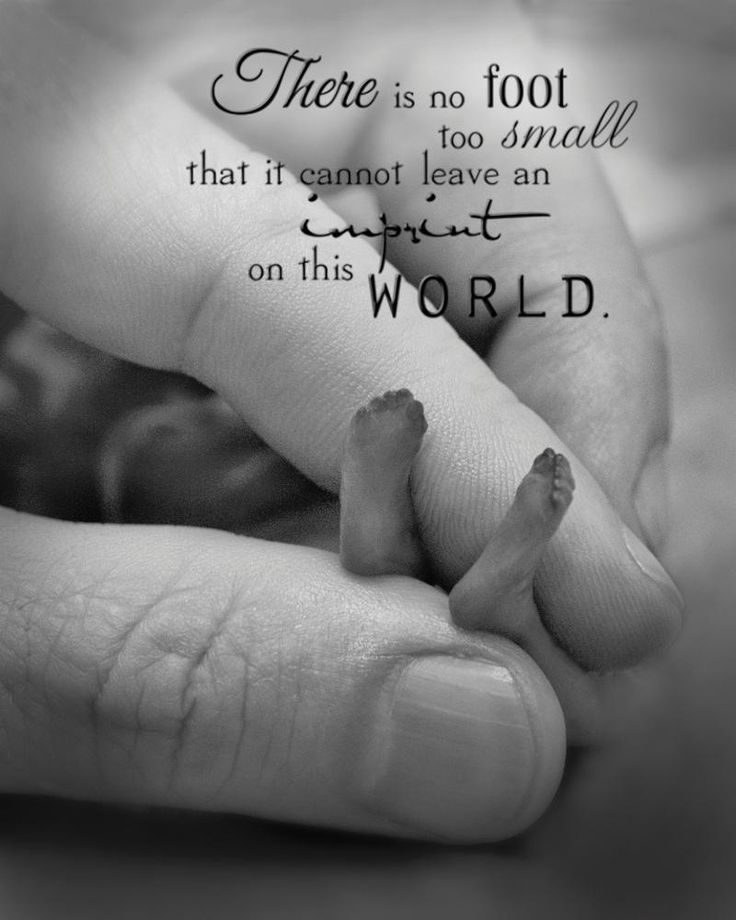 Even the smallest feet can have the biggest impact, #saveife