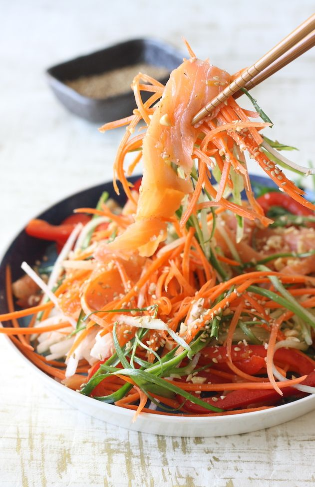 Yee Sang 鱼生 (Chinese New Year Prosperity Salad)