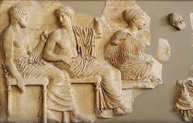 Fregio dorico del Partenone che rappresenta le feste Panatenaiche