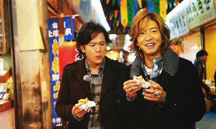 Inagaki Goro and Kimura Takuya