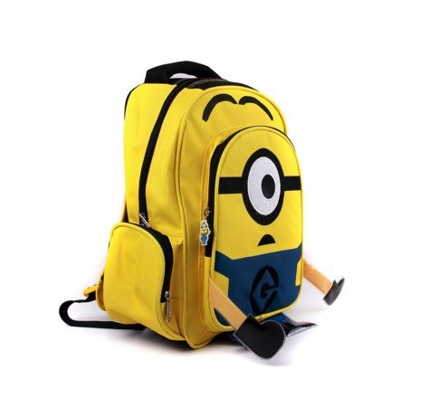 Minimoy Printed Children School Backpack with Pockets