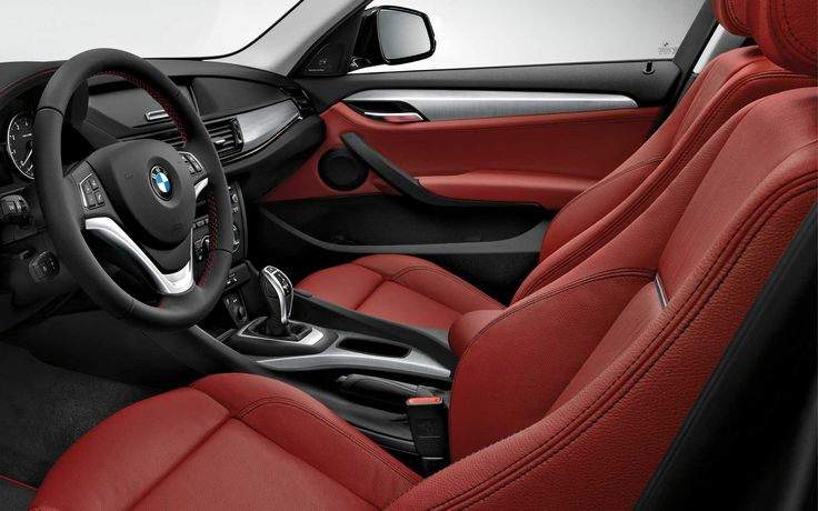 The Bmw X1 With Coral Red Nevada Leather Interior Our