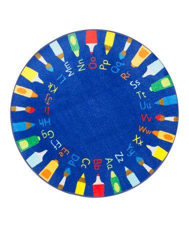 nuLOOM Blue Rainbow Alphabet Area Rug. 65 best Rugs for kids images on Pinterest