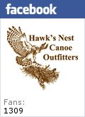 Hawk's Nest Canoe Outfitters - Wisconsin Canoe trips, canoe outfitting and adventure trips in St. Germain, Eagle River, Mercer, Manitowish Waters Wisconsin and the Turtle Flambeau Flowage