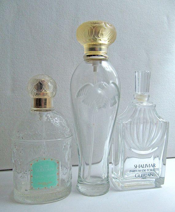 17 meilleures id es propos de bouteilles de parfum vides for Deboucher toilette avec bouteille