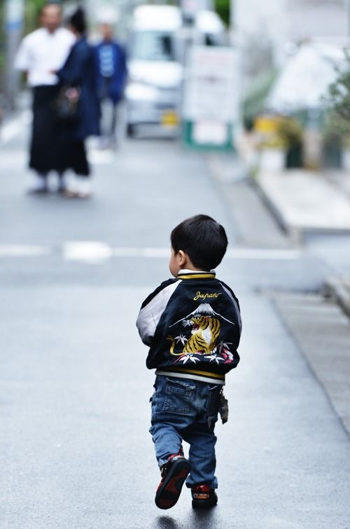 be careful! there is many children passing by the street