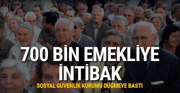 700 bin emekliye intibak #haber #sondakika