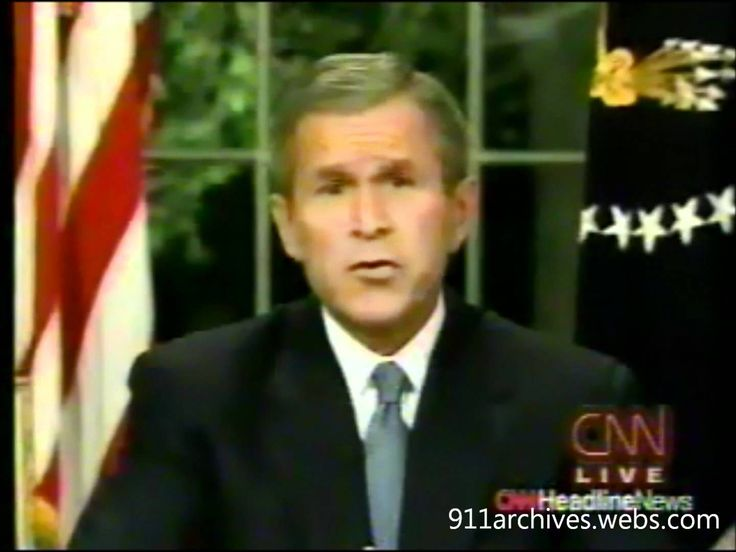 This video clip allows students to view President George W. Bush's full address to the nation on the night of September 11, 2001. It provides critical historical context for what happened on the East Coast that morning, as well as how American leadership handled the crisis and gave Americans living elsewhere in the country a better idea of what was happening. Students will be able to determine from this speech how America responded to the attacks.