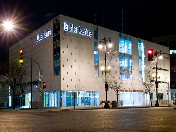 The University of Winnipeg Faculty of Business & Economics, Buhler Center, Winnipeg, Manitoba