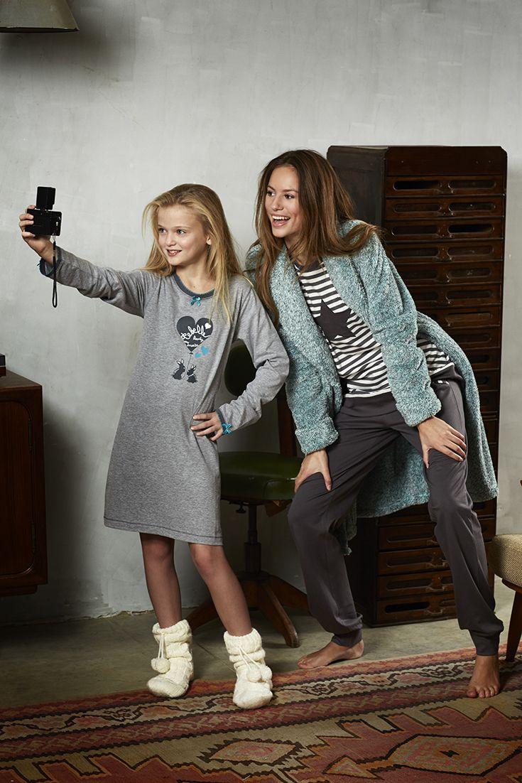 Rebelle Beauty Treats 'Little Love Bunnies' nightdress & 'Star & Stripes' lightslategrey pyjama from Rebelle