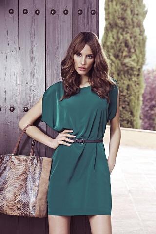 Vestido verde de J.Simorra