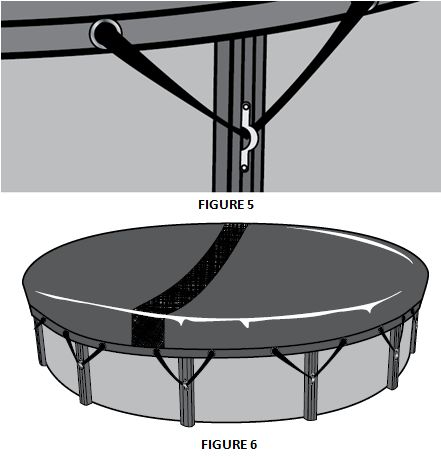 1000 ideas about pool covers on pinterest pool - Above ground swimming pool covers ...